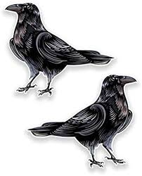 Amazon Com Raven Crow Vinyl Sticker Decal Sticker Graphic Auto Wall Laptop Cell Truck Sticker For Windows Cars Trucks Computers Accessories