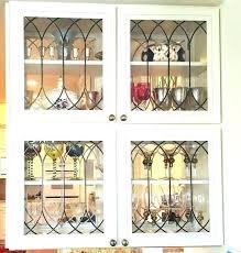 glass cabinet doors aluminum frame