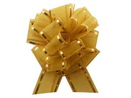 bows metallic pull