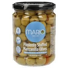 mario pimento stuffed manzanilla olives