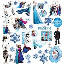 Frozen Wall Stickers For Girls Bedroom W Buy Online In Serbia At Desertcart