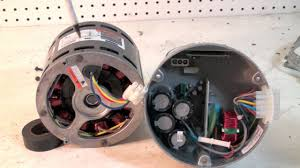ecm motor construction and troubleshoot
