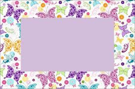Invitaciones De Mariposas Para Imprimir Gratis Mariposas Para