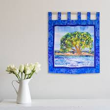 enduring tree wall hanging debbie sun