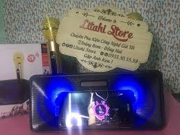 Loa Bluetooth Karaoke SDRD- 301 Gọn Rẽ Hay, Tặng 2 Mic Không Dây. - Litahi  Store