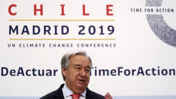 UN warns of 'Point of no return' at the 2019 Climate Summit in Madrid
