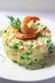Imitation Crab Salad with Shrimp Recipe ...