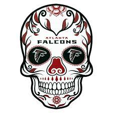 Nfl Atlanta Falcons Large Outdoor Skull Decal Target