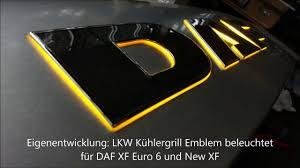 eingenentwicklung daf led logo you