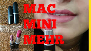 mac mehr mac mini mehr lipstick shade