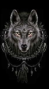 black wolf wallpaper iphone x faded