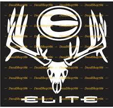 Elite Archery Big Rack Outdoors Bow Hunting Vinyl Die Cut Peel N Stick Decal Ebay