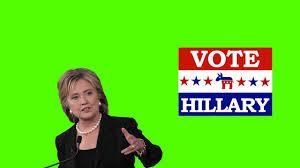 Vote For Hillary Clinton   USA - Free Green Screen Effects - YouTube