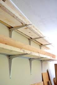 and easy diy lumber rack ugly