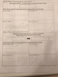 ハ tople ir writing linear equations