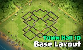 Best Town Hall 10 Base Design Layout: X ...