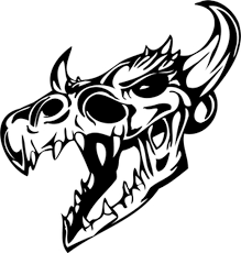 Bad Ass Bull Skull Decal