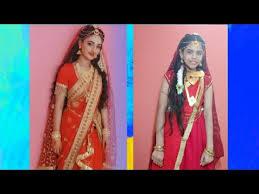 Preeti Verma inspired parvati makeup and  dressup|chandravali|#Radhakrishn#starbharat|Fun with Mehaak - YouTube