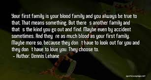 top family is always blood quotes sayings