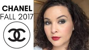 chanel fall winter 2017 makeup review
