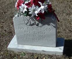 Ivy A Simmons (1917-1957) - Find A Grave Memorial