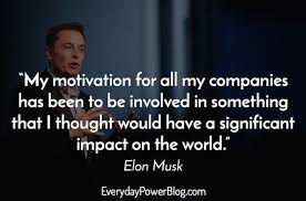 elon musk quotes on success and space