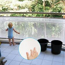 Amazon Com Adsoner Child Safety Net 10ft L X 2 5ft H Balcony Patios And Railing Stairs Netting Safe Rail Net For Kids Pet Toy Sturdy Mesh Fabric Material White Baby