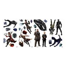 Roommates Marvel Black Panther Peel And Stick Wall Decal 2 Sheets Target
