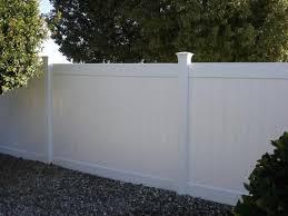 Veranda Linden 6 Ft H X 8 Ft W White Vinyl Pro Privacy Fence Panel Kit 73013298 The Home Depot Privacy Fence Panels Vinyl Privacy Fence White Vinyl Fence