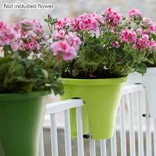 Flower Bridge Hanging Planter Space Saving Balcony Plant Pots Trough Fence Balcony Railing Rail Balcony Hanging Planter Pot Flower Pots Planters Aliexpress