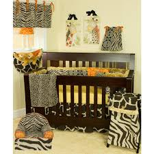 Cotton Tale Designs Sumba Brown Zebra Print And Floral Cotton Foam Kid S Chair Zuch The Home Depot