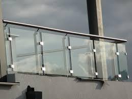 glass railing designs for balcony