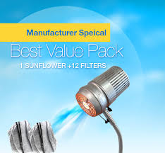 nail dust collector bvp sunflower by