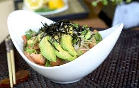 Samurai Salmon Bowl | Community Fitness | Salmon bowl, Yummy lunches,  Flavorful recipes