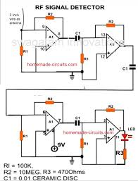 cellphone detector circuit homemade