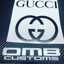 Omb Customs Gucci Vinyl Decals Link In Bio Gucci Facebook