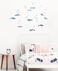 Dolphin Wall Decals For Ocean Themed Nurseries And Kids Rooms Made Of Sundays