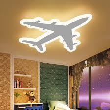 diy acrylic airplane led ceiling light
