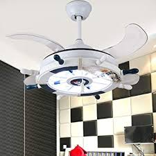 Lakiq 2 In 1 Kids Room Hanging Ceiling Fan With Lights Nautical Style Anchor Chandelier Pendant Lighting Fixture Flexible Adjustable Blade For Children Room Bedroom Amazon Com