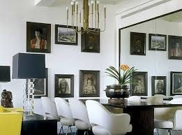 decorate using oversized mirrors
