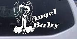 Betty Boop Angel Logo Decal Vinyl Sticker Car Window