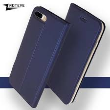 pu leather flip case for apple iphone 7