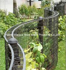 China Pvc Coated Welded Metal Wire Mesh Steel Panels Attahced To Fence For Climbing Plants Photos Pictures Made In China Com