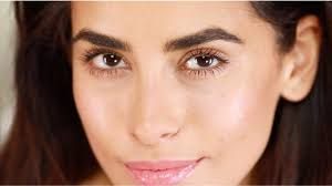5 minute glowing makeup tutorial no