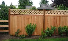 Building A Wood Lattice Fence Cheap Fencing Ideas