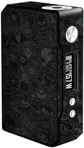 Amazon Com Skin Decal Vinyl Wrap For Voopoo Drag 157w Tc Resin Reg Vape Mod Skins Stickers Cover Black Sticker Slap Design