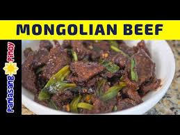 cook mongolian beef panlasang pinoy