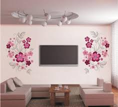 Pink Flower Blossom Wall Decal Sticker Tv Background Flower Tree Wall Art Mural Poster Removable Living Room Bedroom Home Decoration Sticker Removable Wall Art Stickers Removable Wall Decal From Magicforwall 1 84 Dhgate Com