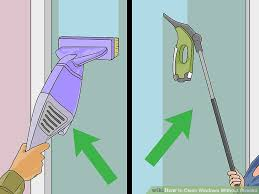 how to wash windows without streaks