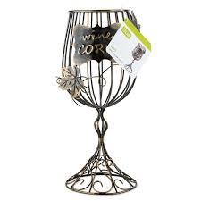 wine glass cork holder wayfair